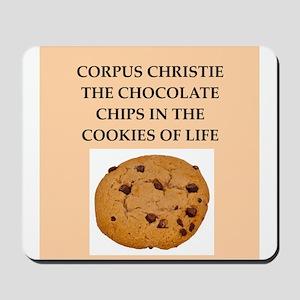 corpus,christie, Mousepad