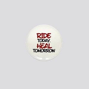 'Heal Tomorrow' Mini Button