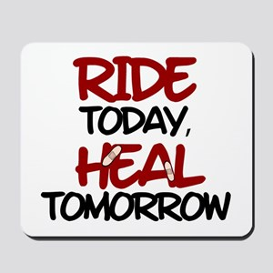 'Heal Tomorrow' Mousepad
