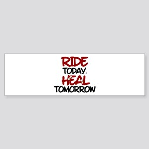 'Heal Tomorrow' Sticker (Bumper)