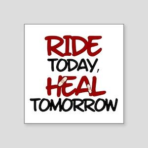 "'Heal Tomorrow' Square Sticker 3"" x 3"""