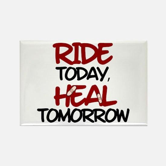 'Heal Tomorrow' Rectangle Magnet