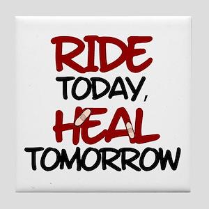 'Heal Tomorrow' Tile Coaster