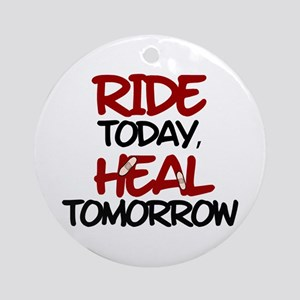 'Heal Tomorrow' Ornament (Round)