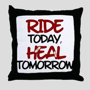 'Heal Tomorrow' Throw Pillow