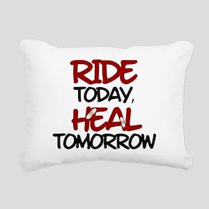'Heal Tomorrow' Rectangular Canvas Pillow