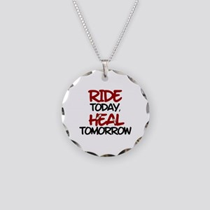 'Heal Tomorrow' Necklace Circle Charm