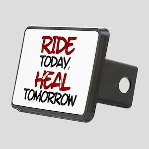 'Heal Tomorrow' Rectangular Hitch Cover