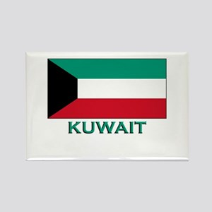 Kuwait Flag Merchandise Rectangle Magnet