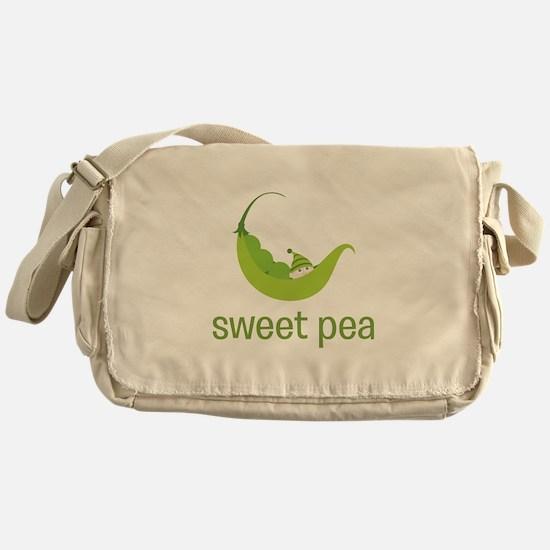 Sweet Pea Messenger Bag