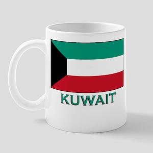 Kuwait Flag Merchandise Mug