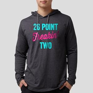 Twenty Six Point Freakin Two Mens Hooded Shirt