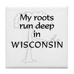 Wisconsin Roots Tile Coaster