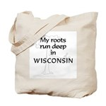Wisconsin Roots Tote Bag