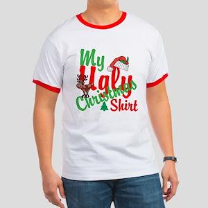 Ugly Christmas Shirt Ringer T
