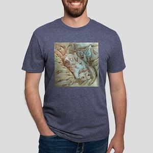 Let Sleeping Dogs Lie Mens Tri-blend T-Shirt
