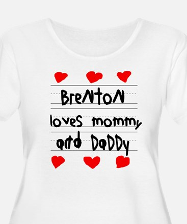 Brenton Loves Mommy and Daddy T-Shirt