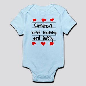 Cameron Loves Mommy and Daddy Infant Bodysuit