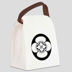 Mokko in rice cake Canvas Lunch Bag