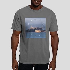 Alcatraz at Dawn clock.p Mens Comfort Colors Shirt