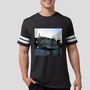 alcatraz5 clock Mens Football Shirt