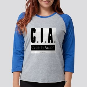 CIA_7 Womens Baseball Tee