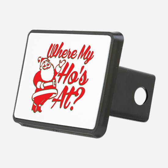 Where My Ho's At? Funny Christmas Funny Gift Recta