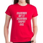 HELP! I'm a Red Shirt! Women's Dark T-Shirt