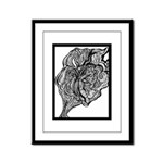Its All In the Lines Framed Panel Print