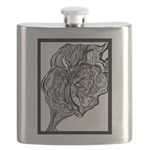 Its All In the Lines Flask