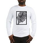 Its All In the Lines Long Sleeve T-Shirt