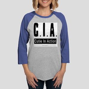CIA_10 Womens Baseball Tee