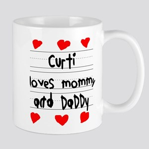 Curti Loves Mommy and Daddy Mug