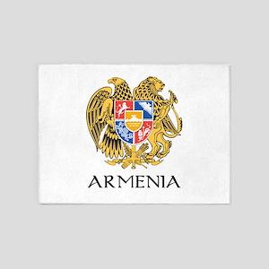 Armenian Coat of Arms 5'x7'Area Rug