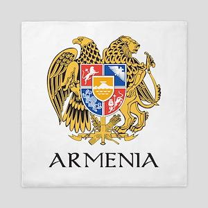 Armenian Coat of Arms Queen Duvet