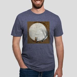 banjo clock 1 Mens Tri-blend T-Shirt