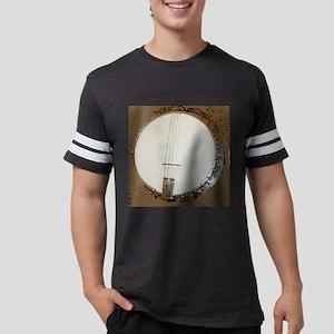 banjo clock 1 Mens Football Shirt