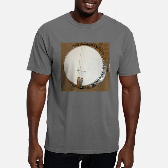 banjo clock 1.png Mens Comfort Colors Shirt
