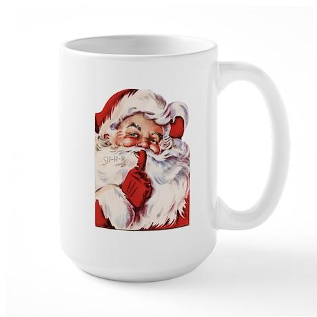 Vintage Santa Large Mug