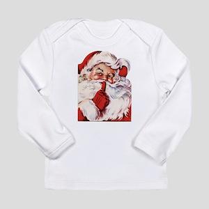 Vintage Santa Long Sleeve Infant T-Shirt