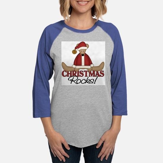 Christmas Rocks.png Womens Baseball Tee