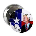 "Chris Bell, TX GOV 2.25"" Button (10 pack)"