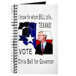 Chris Bell, TX GOV Journal