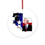 Chris Bell, TX GOV Ornament (Round)