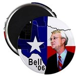 """Chris Bell, TX GOV 2.25"""" Magnet (100 pack)"""