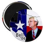 """Chris Bell, TX GOV 2.25"""" Magnet (10 pack)"""