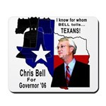 Chris Bell, TX GOV Mousepad
