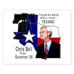 Chris Bell, TX GOV Small Poster