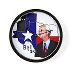 Chris Bell, TX GOV Wall Clock
