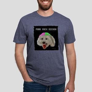 PunkBICHON11 Mens Tri-blend T-Shirt